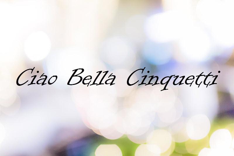 Ciao Bella Cinquetti